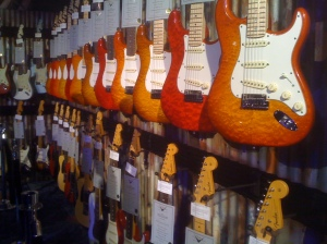 Fender-Wall @ Winter NAMM 2012